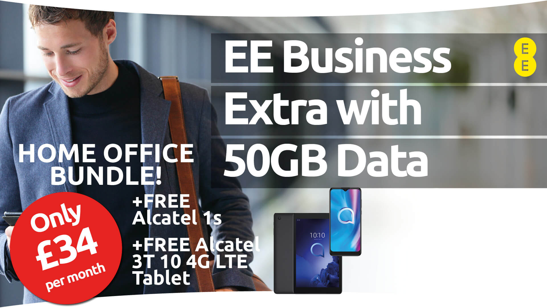 Telecom network provider offering mobile solutions to businesses